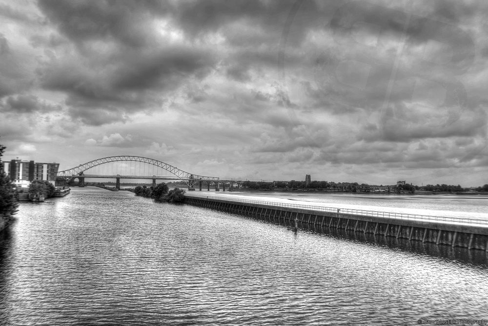 River Mersey [Black & White] by Bam Boostick