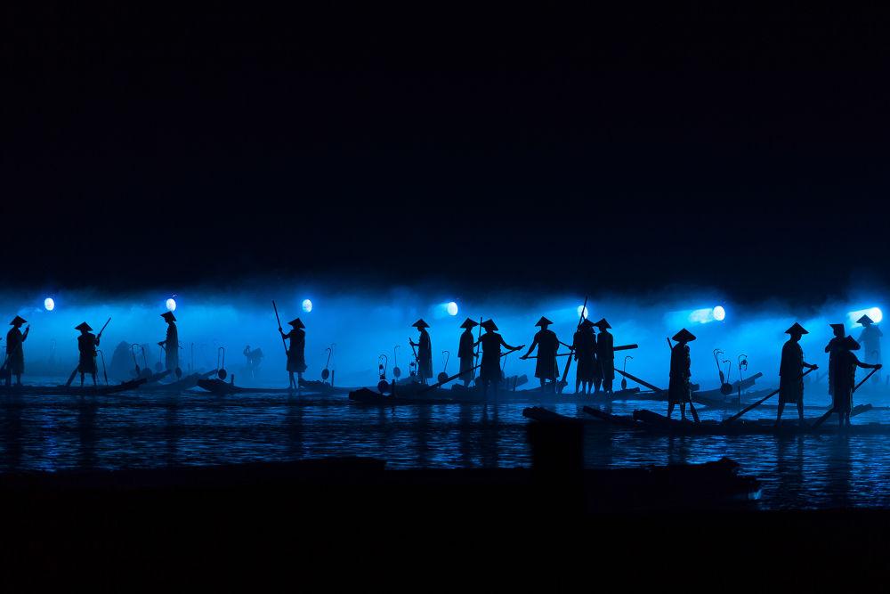 Photo in Random #yangshuo #impression #sanjie #liu #fishermen #ypa2013