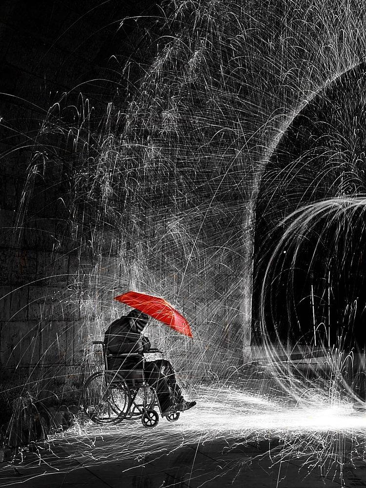 Dis-ability Light Paint by Taylan Kirali