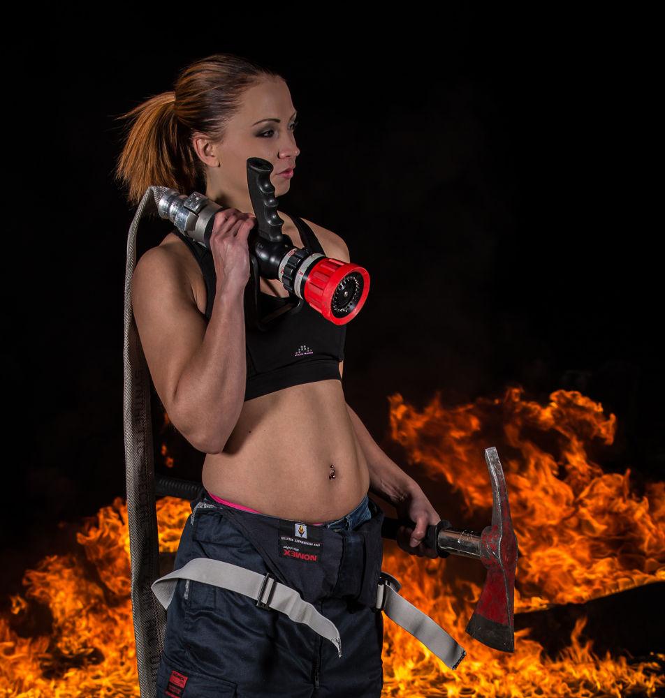 Photo in Portrait #firefighter
