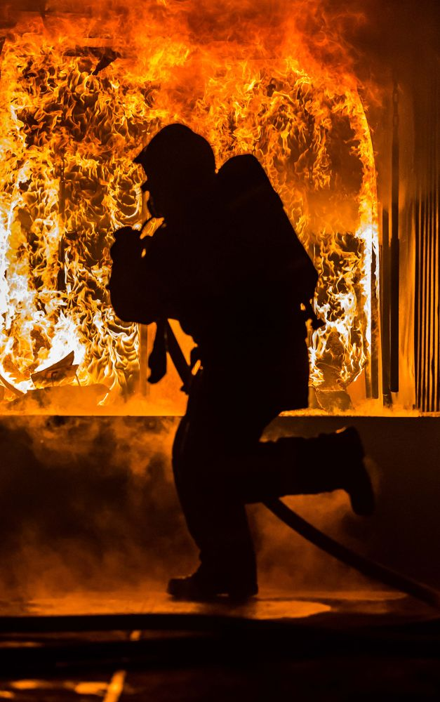 Firefighter by Komisantto