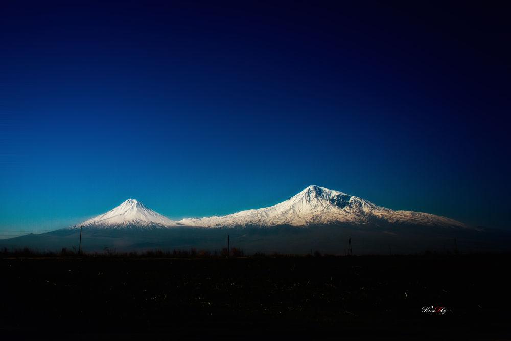 Mountain Ararat by KanSky