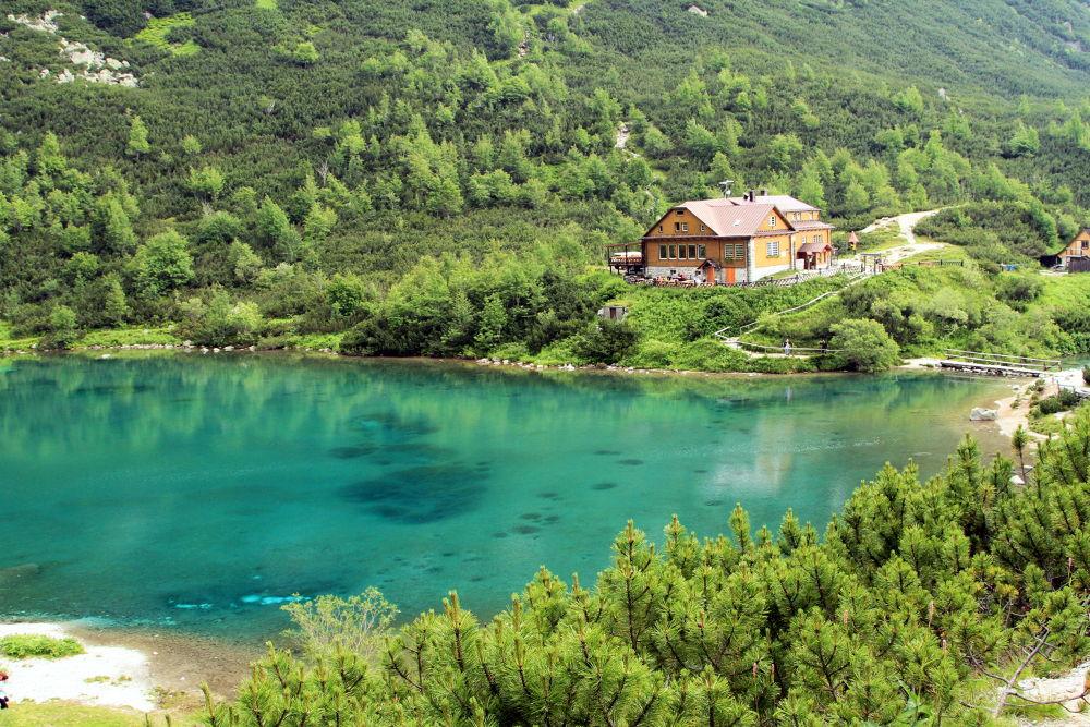 Green mountain lake - High Tatras by ZalesakPhotography