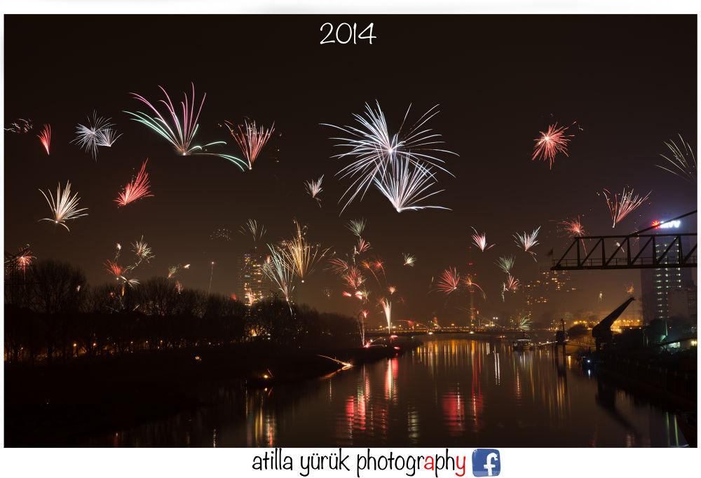 Happy new Year 2014 by atillayueruek