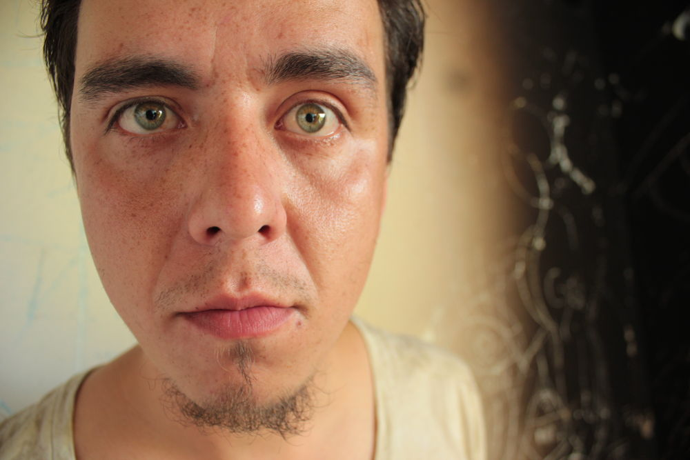 Photo in Random #face #green eyes #strange