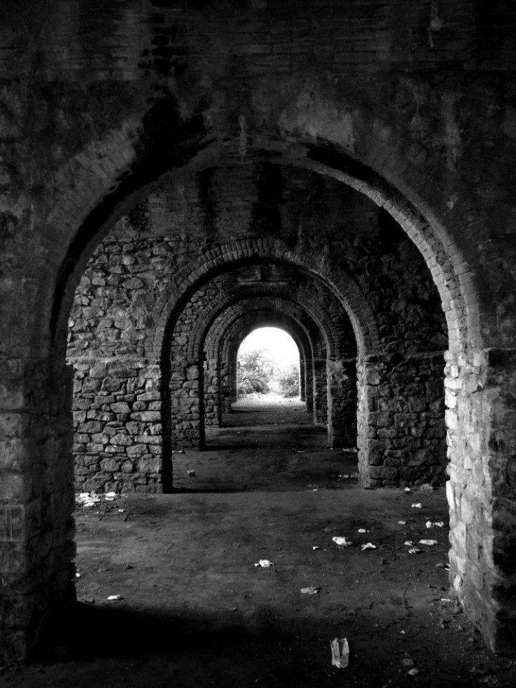 Photo in Random #forge bunker black and white k