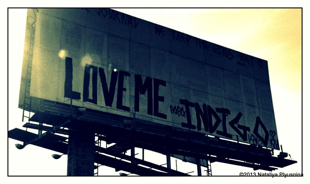 Love Me Indigo by Nataliya Plyusnina