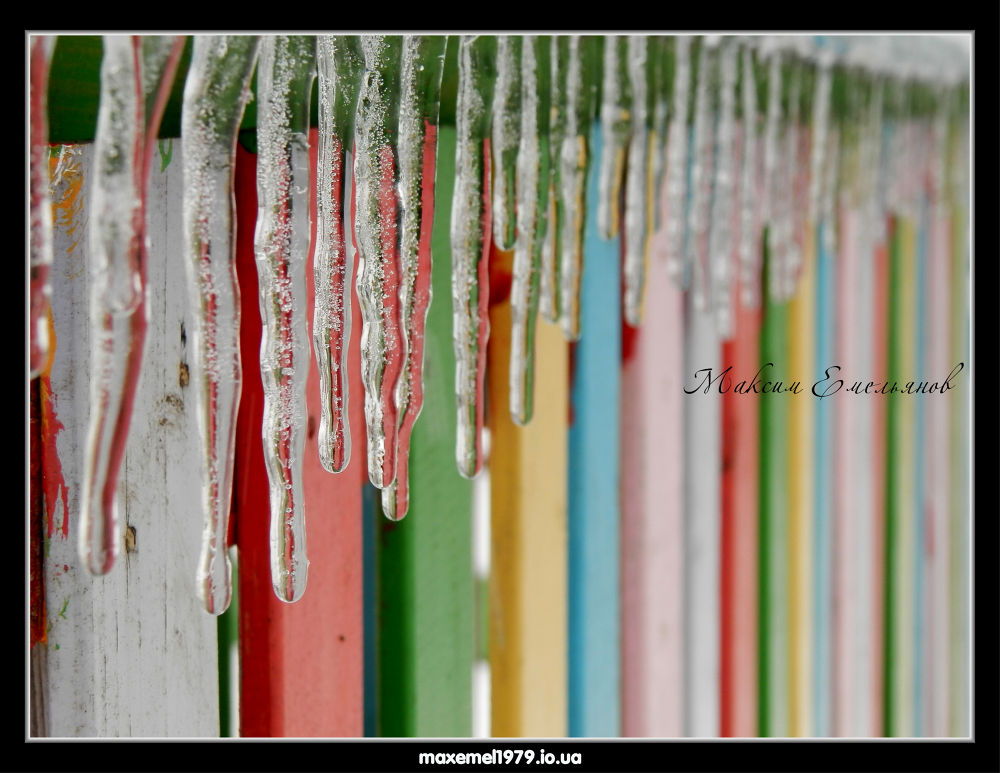 icicles ice by maxemelianov