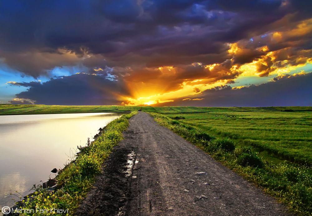 Photo in Landscape #mehran #fani #ciav #khiav #meshgin shahr #meshkin shahr #landscape #nature #road #heaven