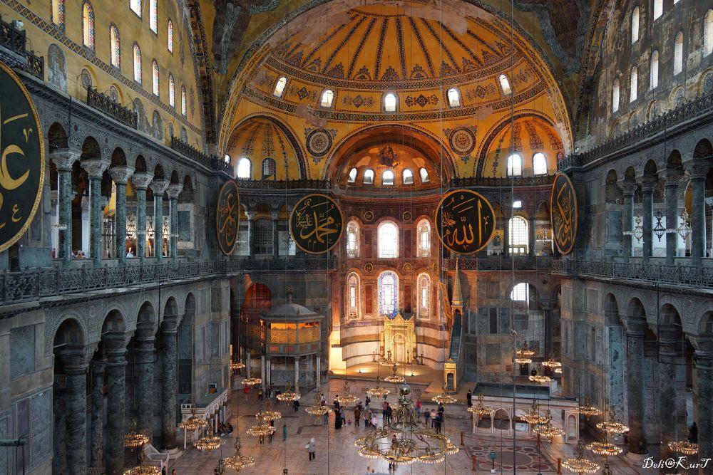 Hagia Sophia by Zeki Alkanat