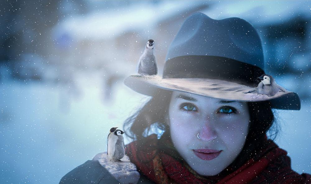 Myself in winter  by crokela