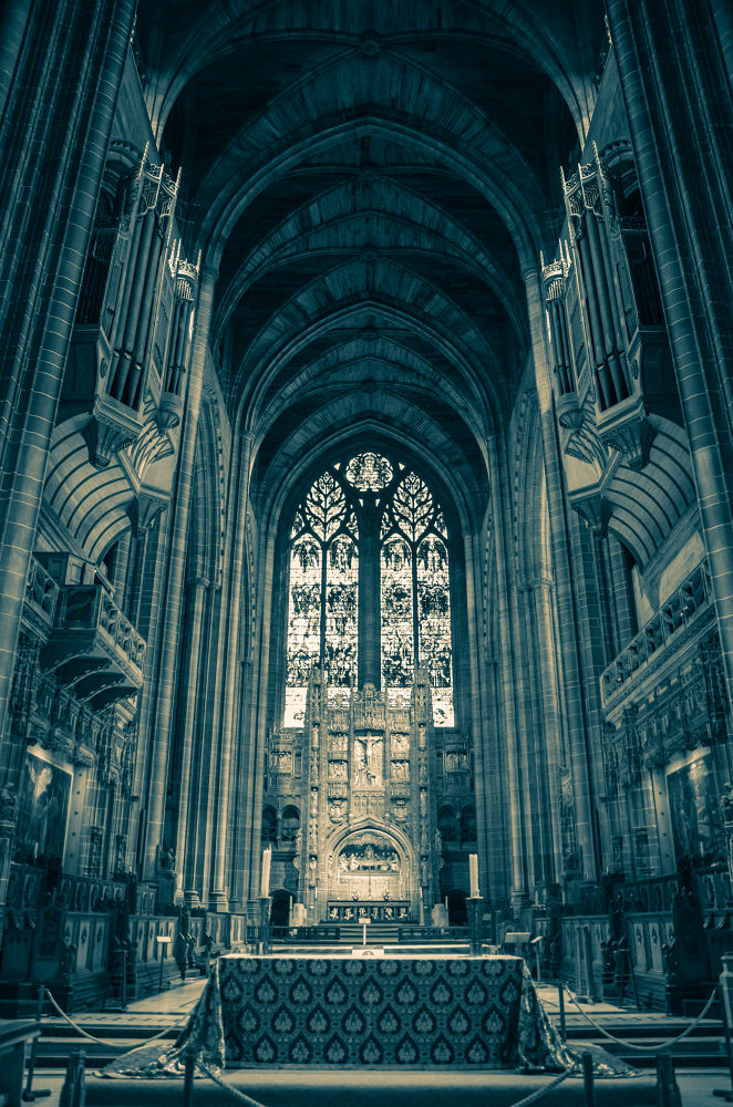 Liverpool Cathedral by florinmatinca
