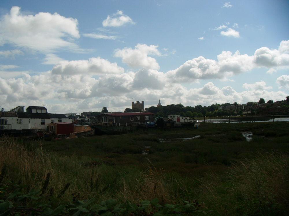 Castle View boatyard by didibergman3