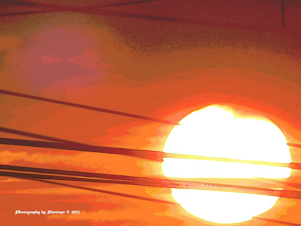 Electric acid sunset by pennieawhite