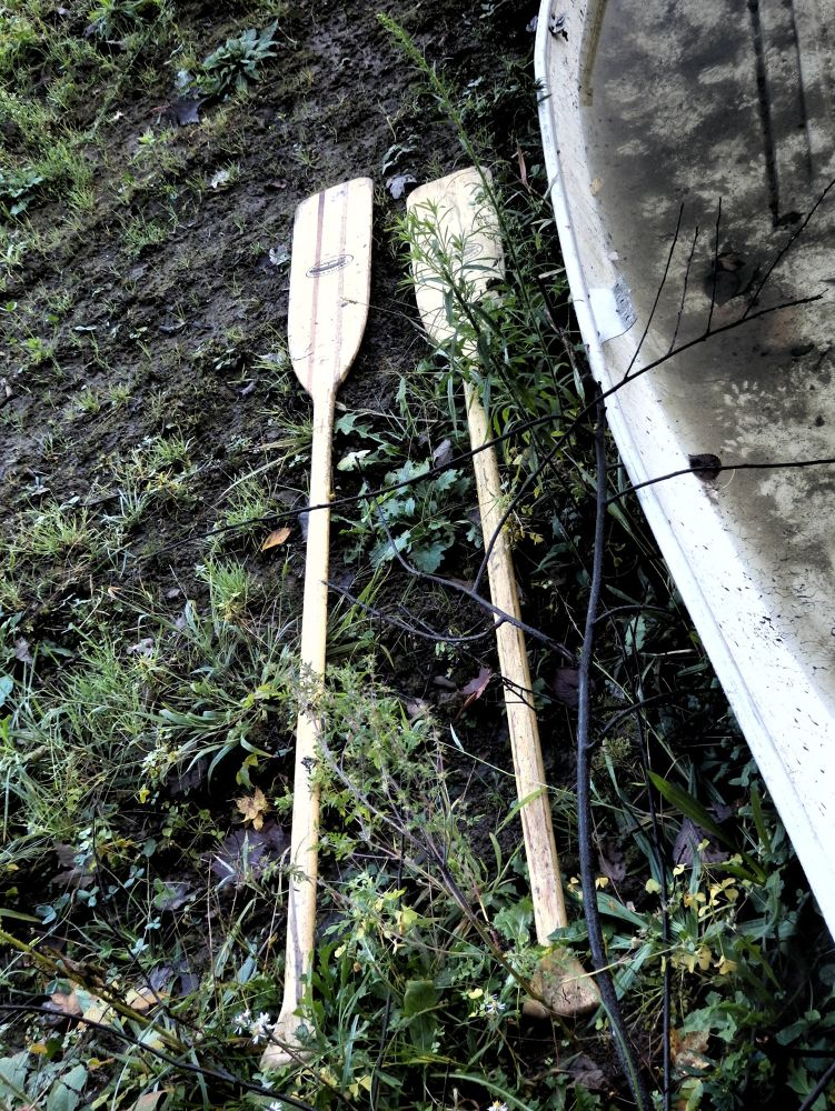 No creek, two oars by pennieawhite