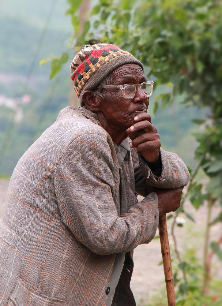 Photo in Random #people #portrait #old man #life