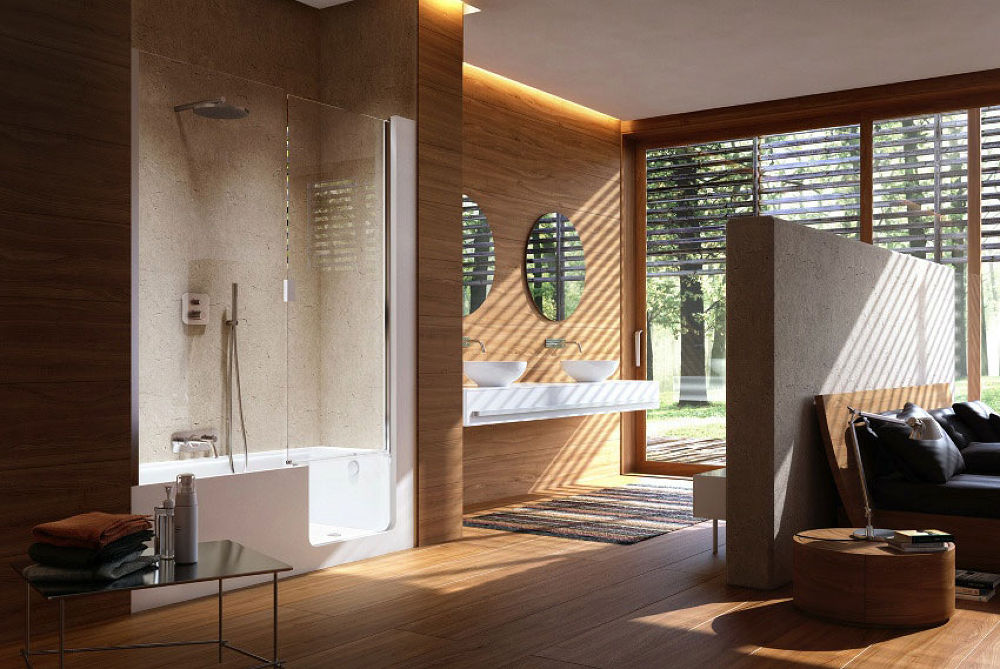 amazing-wooden-wall-decor-bathroom-design by rytisrunkevicius
