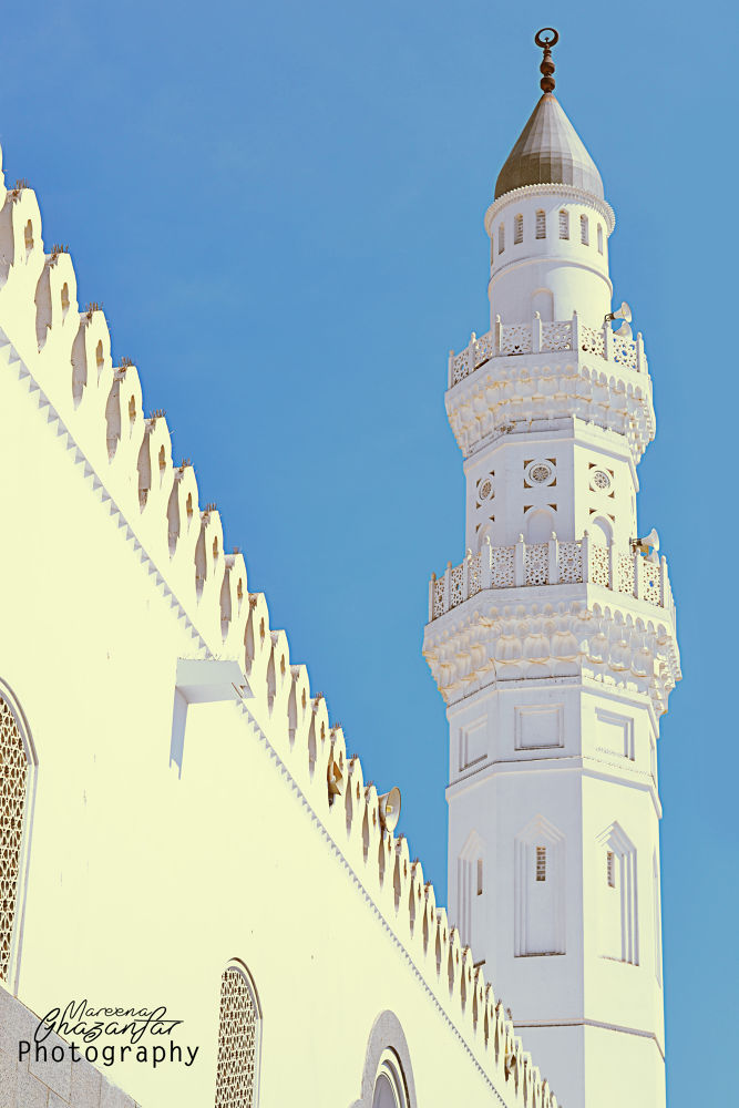 Masjid-e-Quba by Mareena Ghazanfar