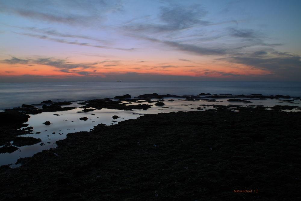 Photo in Nature #sunset #coast