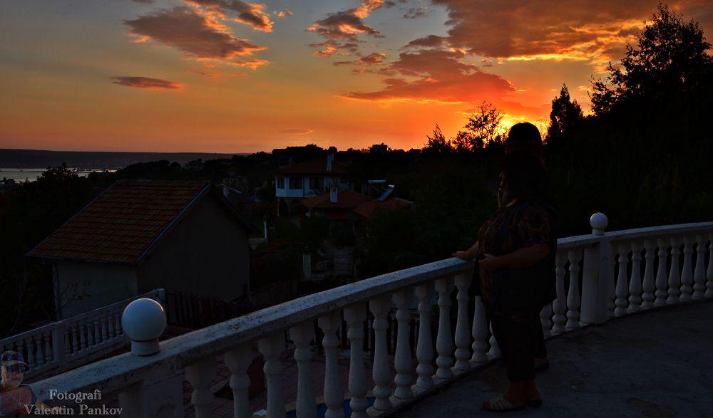 Залез във Варна от хотел Казабланка by valentinpankov1