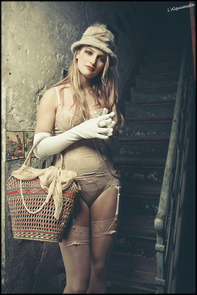 Neo Vargas Girl: Aristocratic Woman by Xavi Carol