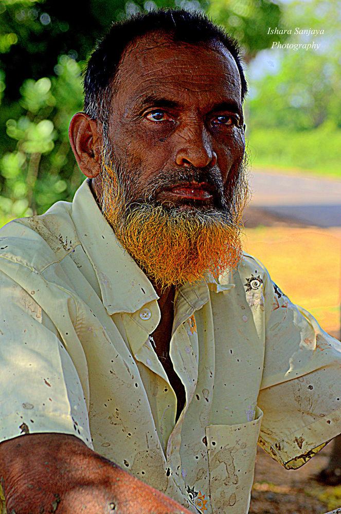 Farmer's Portrait  by Ishara Gunawardana