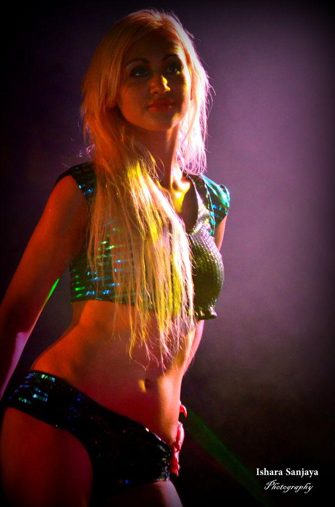 Exotic Dancer by Ishara Gunawardana