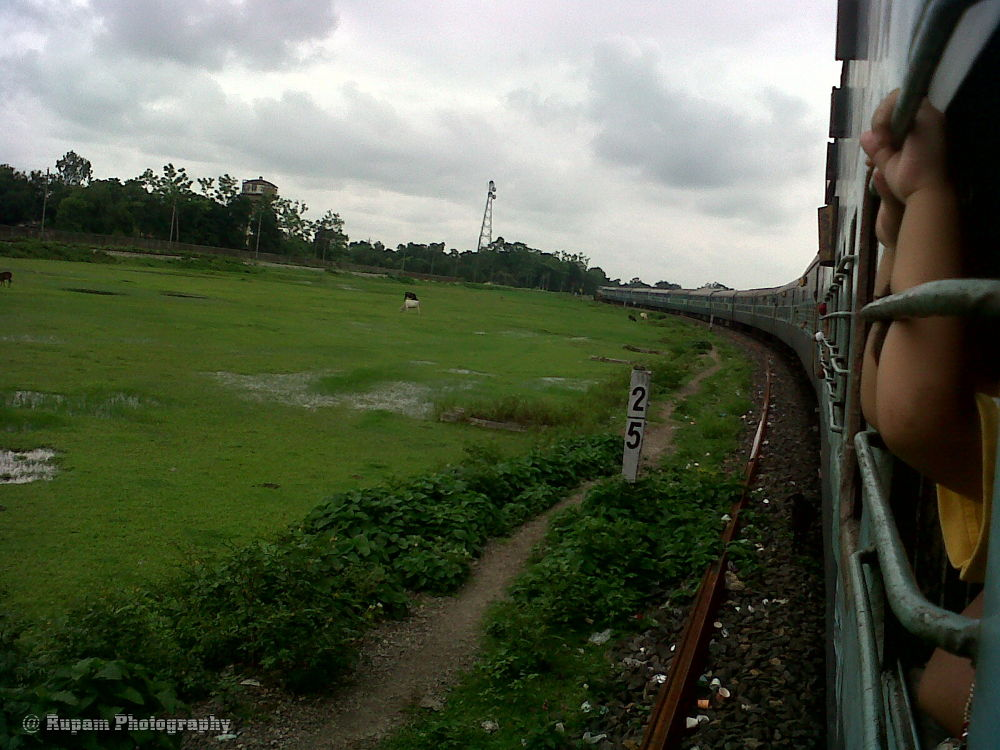 Train Journey by rupamsikder