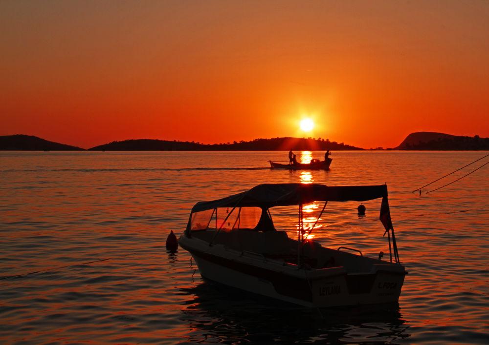 Sunset in Phokai by Alperen Arıcan