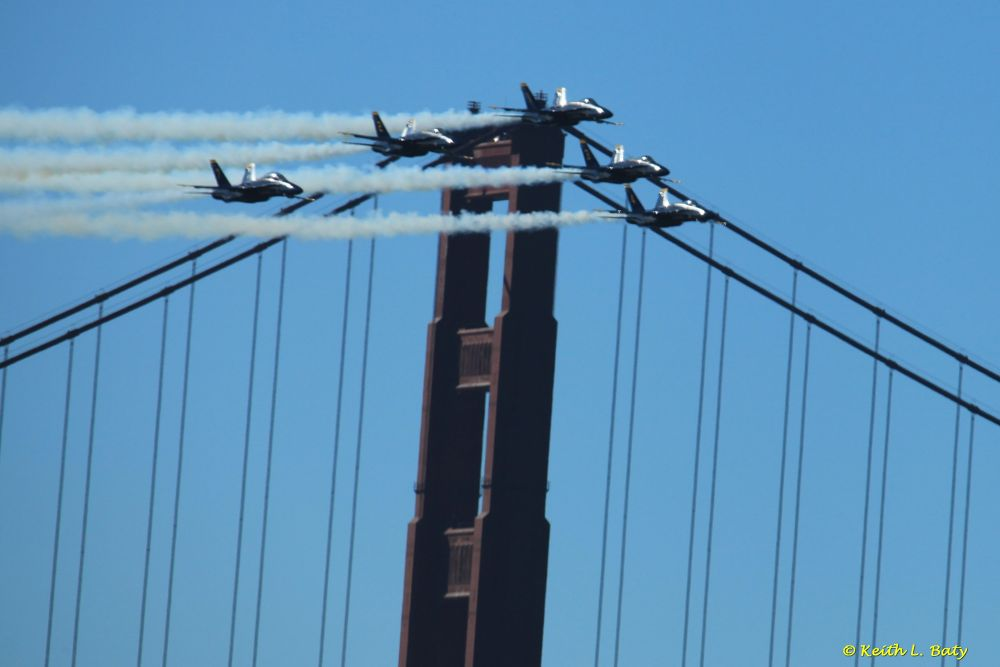 2012 Fleet Week San Francisco Bay by Keith L. Baty