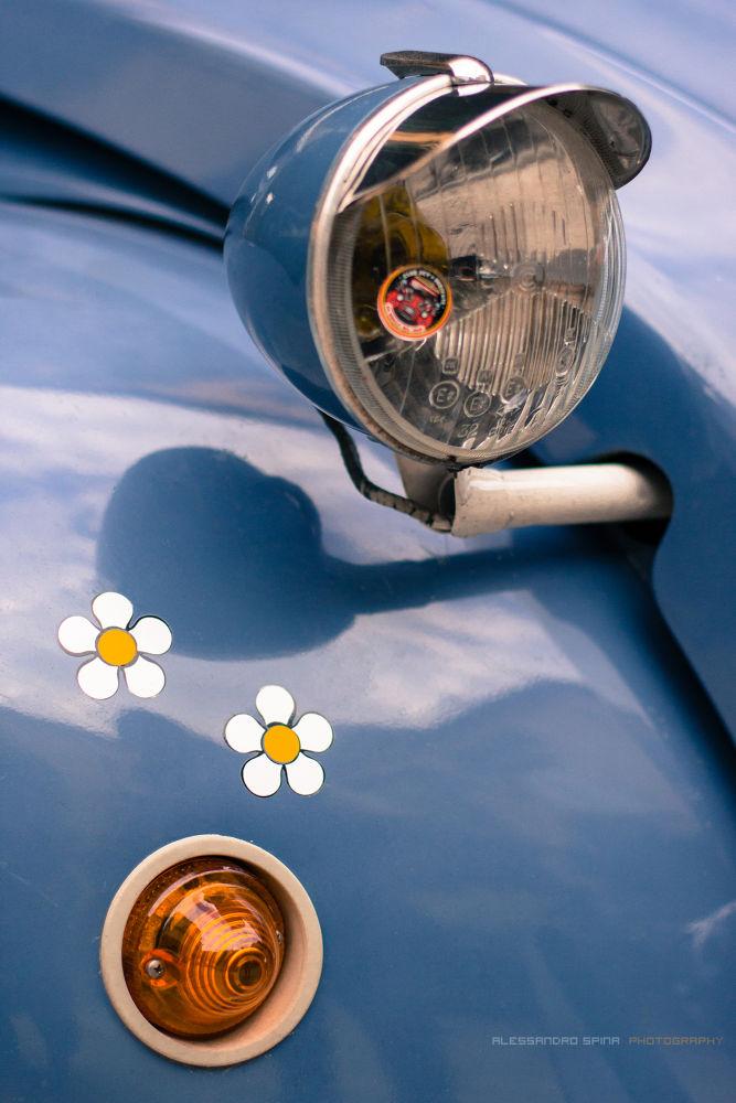 Citroën 2CV + Flowers by Alessandro Spina