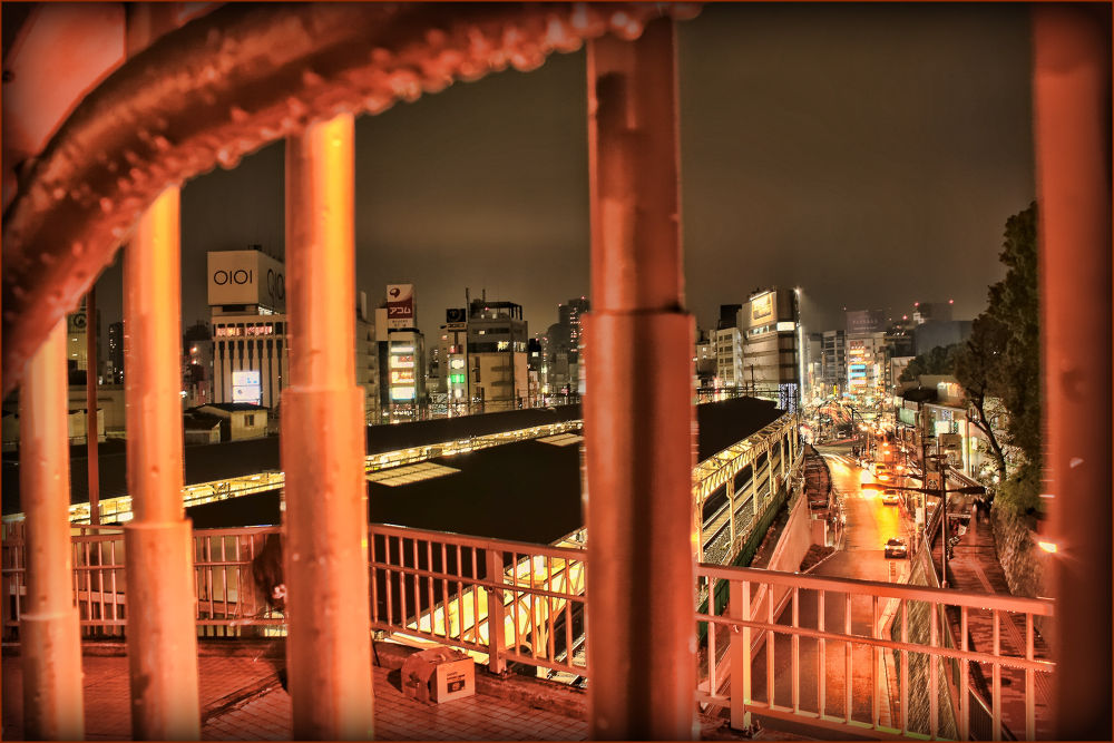 Ueno Station Side by Rohmad Apriono Purwanto