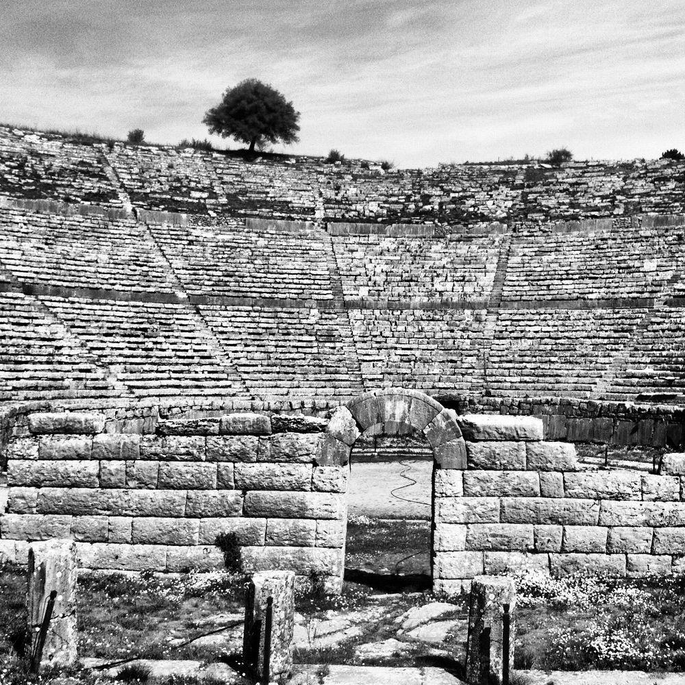 Ancient theatre. by dmavridi