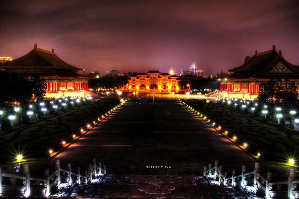 Chiang Kai-shek Memorial Hall by davidfish530