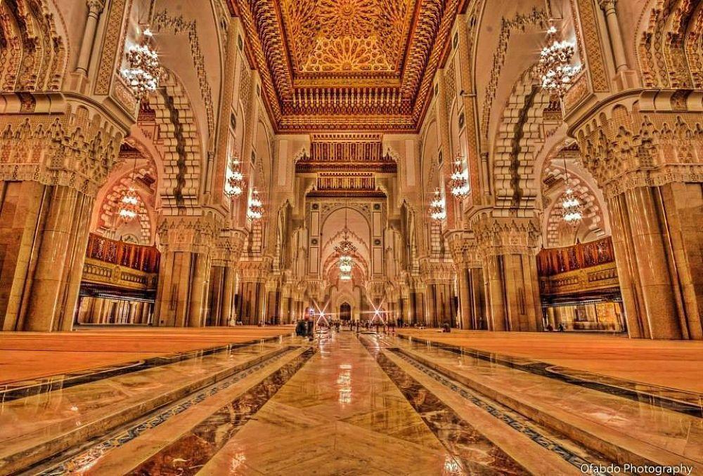 Hassan II Mosque, Casablanca, Morocco by El jalaoui Aglou