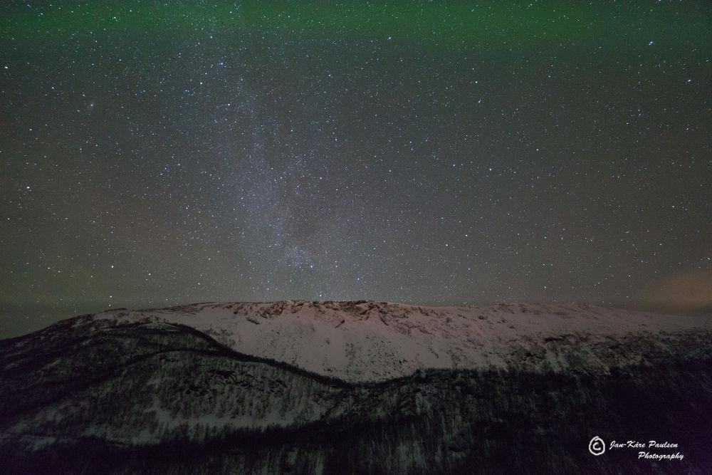 A bit of the Milky way by Jan Kåre Paulsen