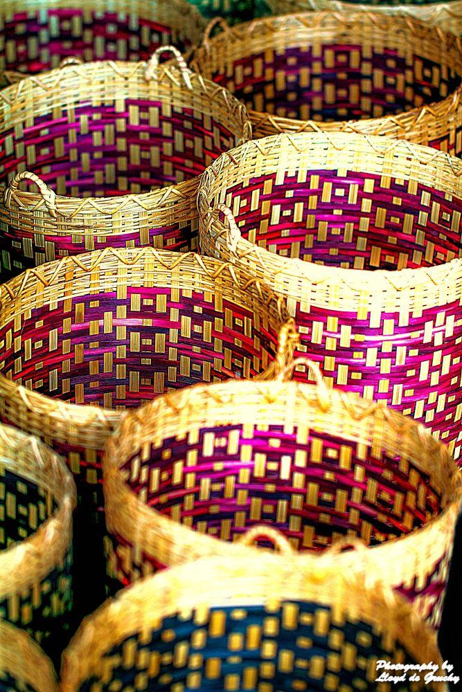 Thai handmade buckets by Lloyd de Gruchy