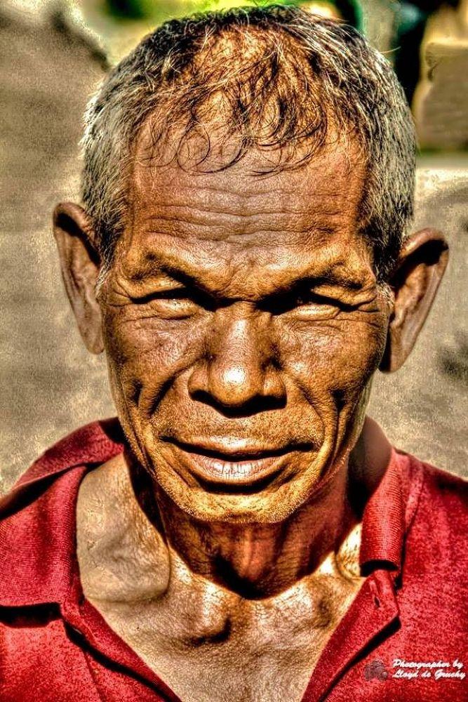 The Old Gardener Man by Lloyd de Gruchy