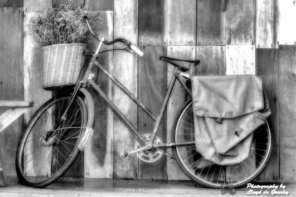Ladies Post Bike by Lloyd de Gruchy