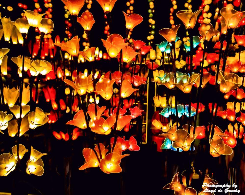 Colourful Lights BKK by Lloyd de Gruchy