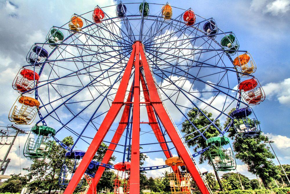 The Big Wheel by Lloyd de Gruchy