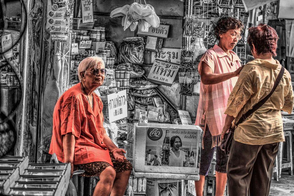 STREET LIFE THAILAND by Lloyd de Gruchy