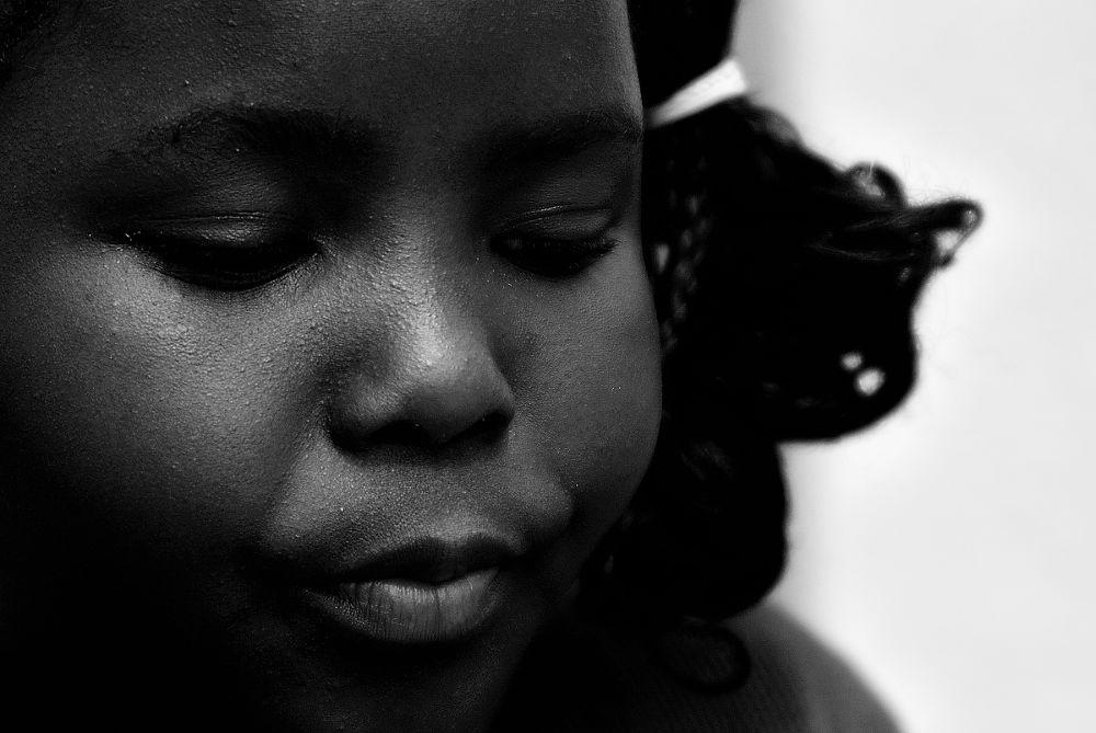 petite fille d'Haïti. by pepecannaye