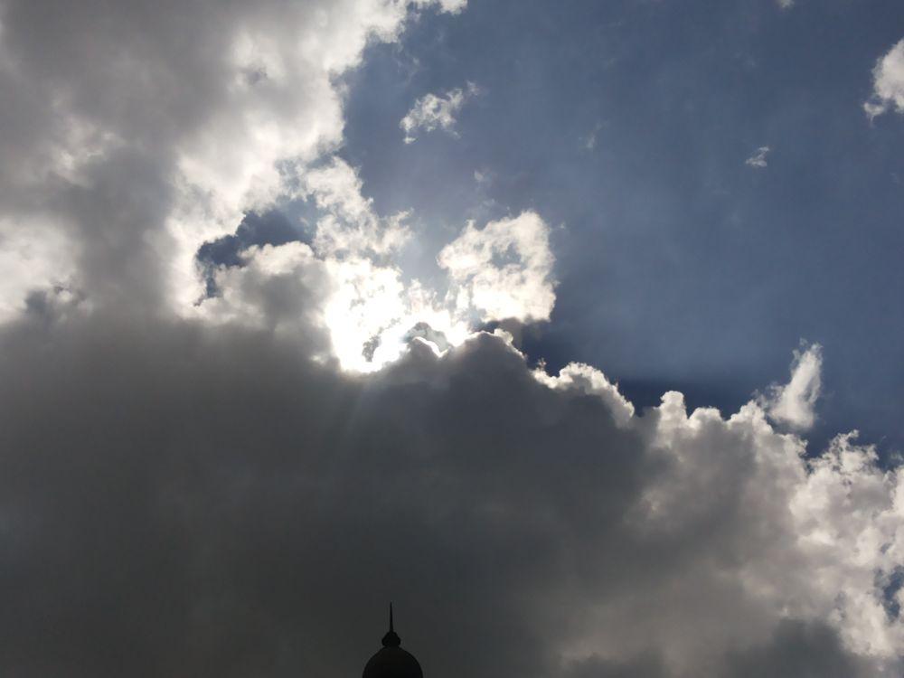 cloudy behaivour by Ahtesham husain
