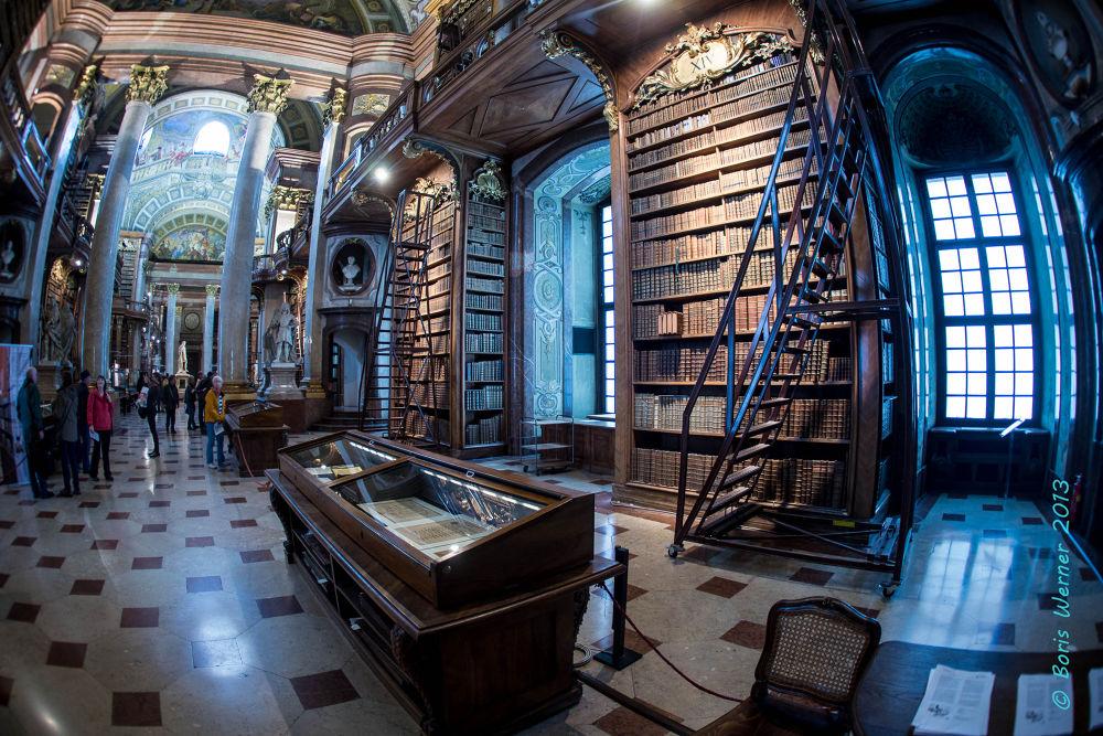 National Bibliothek Vienna by Boris WERNER