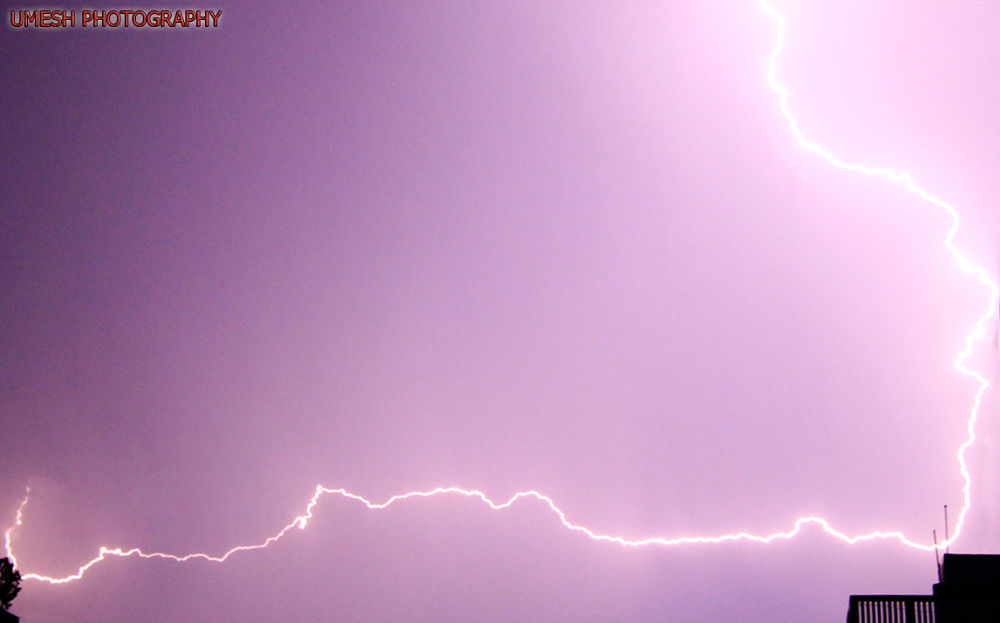Be aware of lightning well it is a close shot . by umesh pun