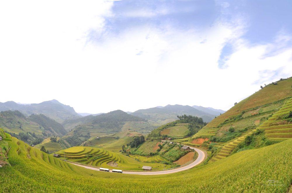 Photo in Landscape #the curve - che cu nha distric #yen bai #mu cang chai #thang nguyen #thang nguyen photographers