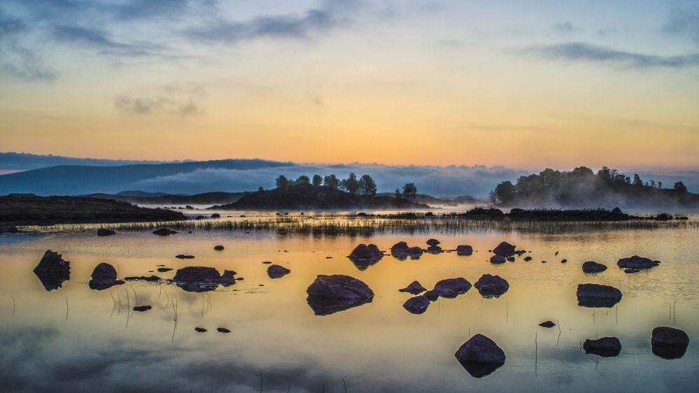 Loch Ba,Rannoch Moor ,Scotland  by George Harris