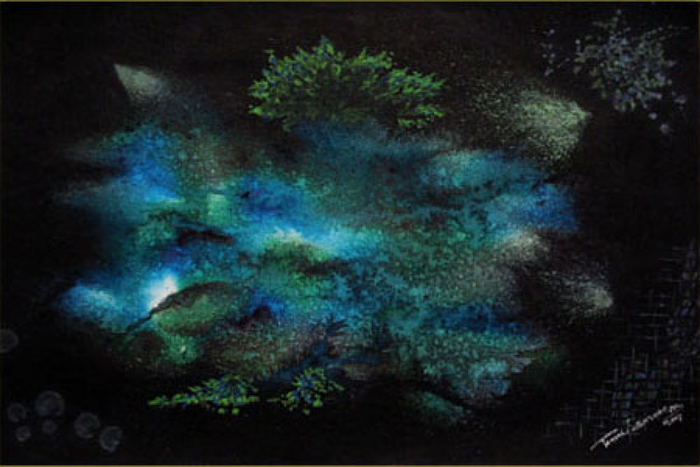 Painting of Tamal Sen Sharma by Tamal Sen Sharma