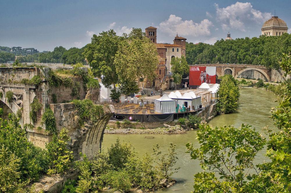 Tiber Island by Bruno Conte